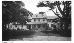 Tobey's Apple Tree Farm, as renovated. Architecture (1922).